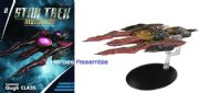 Star Trek Discovery Starships Collection #8 Klingon Qugh Class Destroyer Eaglemoss